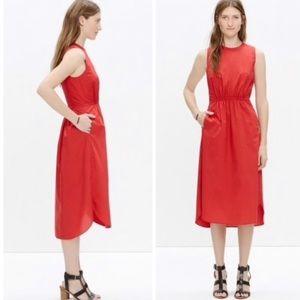 Madewell Lakeshore Midi Dress Size 10